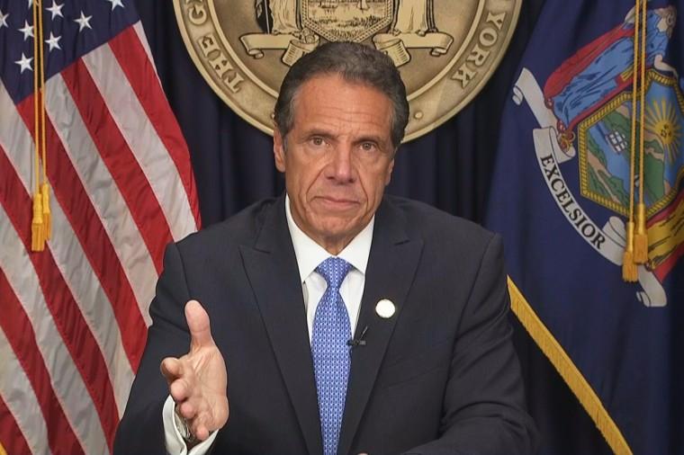 New York Gov. Andrew Cuomo announces his resignation on Aug. 10, 2021.