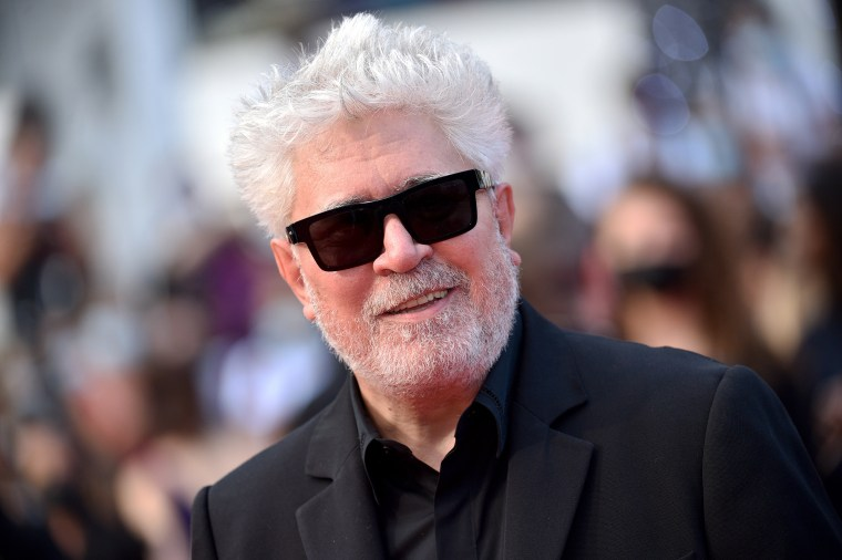 Pedro Almodovar attends the opening ceremony for the 74th annual Cannes Film Festival on July 6, 2021, in Cannes, France.