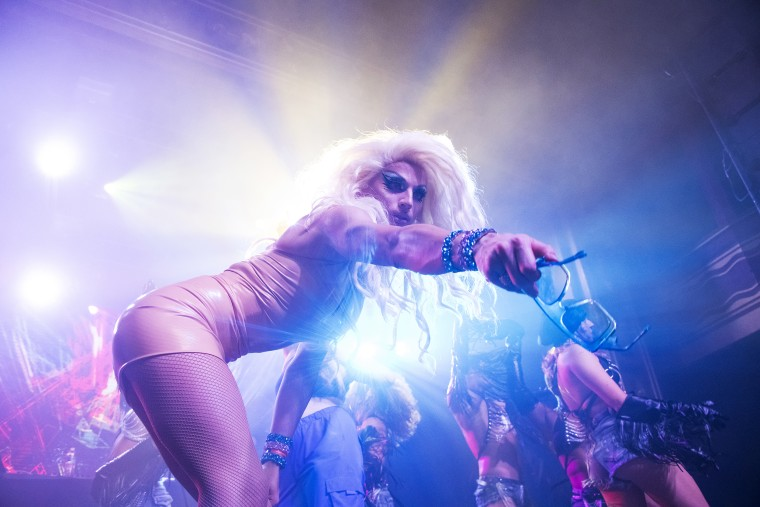 Image: Aquaria performs at Webster Hall on Aug. 6, 2021 in New York City.