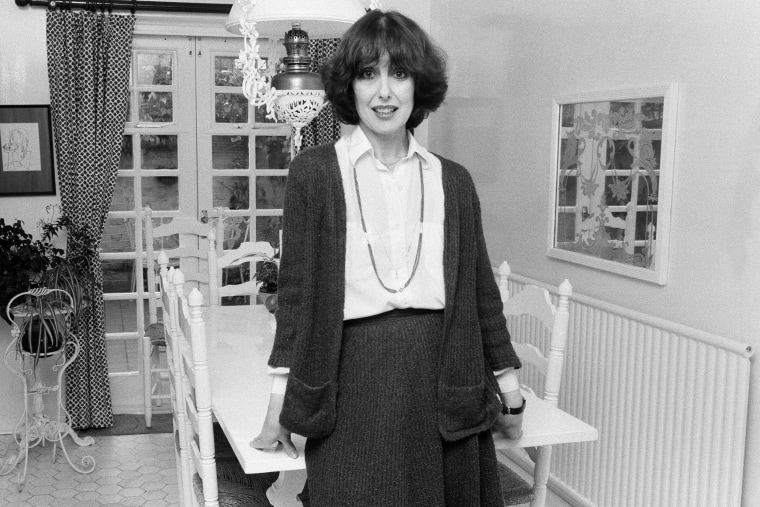 Actress Una Stubbs at home in the United Kingdom on Feb. 8, 1979.