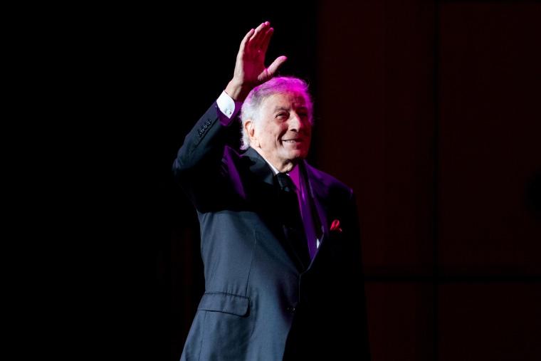 Tony Bennett Performs At Royal Concert Hall, Glasgow