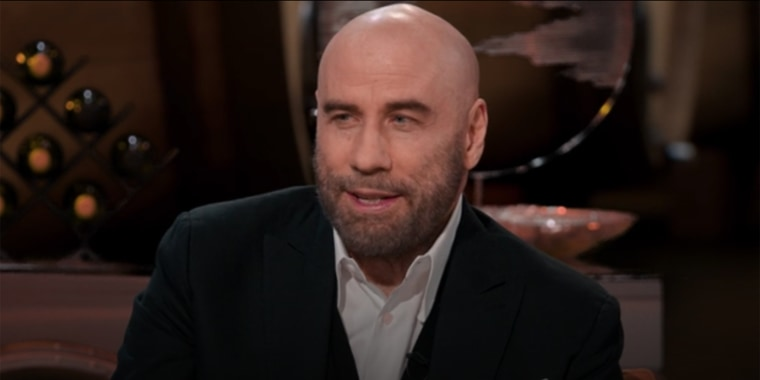 """Travolta sat down with Kevin Hart on his new Peacock show, """"Hart to Heart."""""""