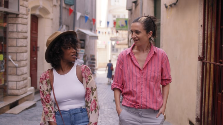 """Idella Johnson stars as Bertie and Hannah Pepper as Lane in a scene from the film \""""Ma Belle, My Beauty.\"""""""