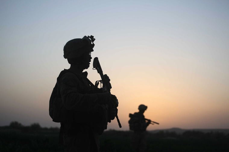 Image: U.S. Marines Continue Suppression Of Insurgents