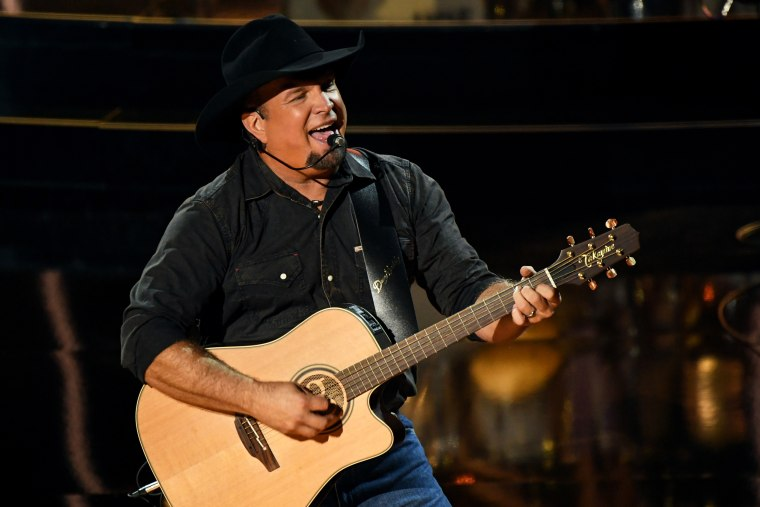 Garth Brooks performs at the Billboard Music Awards in Los Angeles on Oct. 14, 2020.
