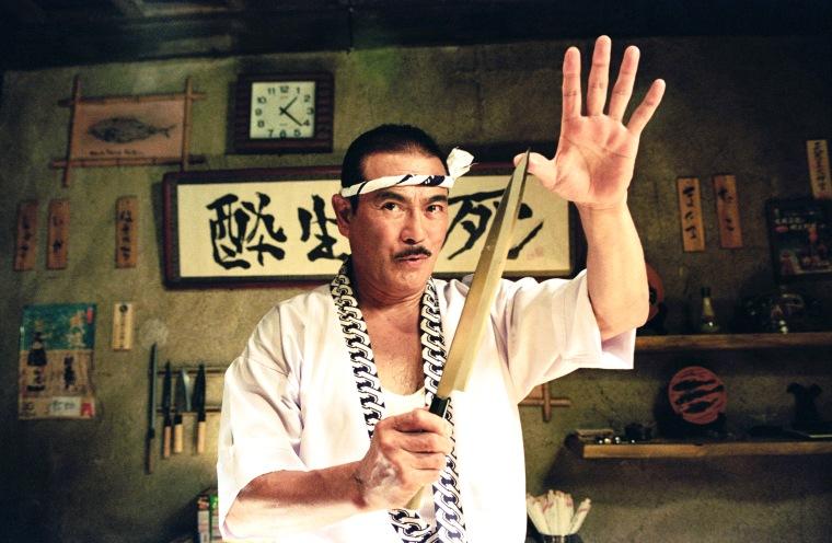 """Sonny Chiba as Hattori Hanzo in a scene from \""""Kill Bill: Vol. 1.\"""""""