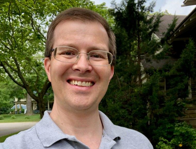 Dr. Steuard Jensen, associate professor and physics department chair at Alma College.