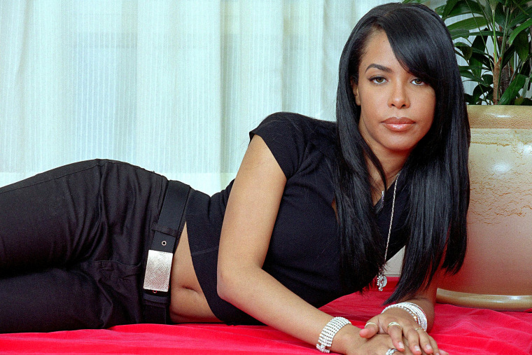 Aaliyah in New York on May 9, 2001.