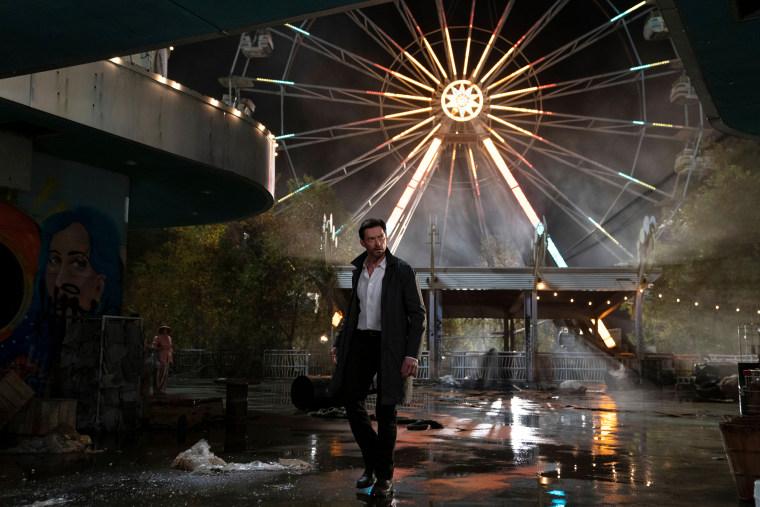 "Image: Hugh Jackman stars in \""Reminiscence.\"""