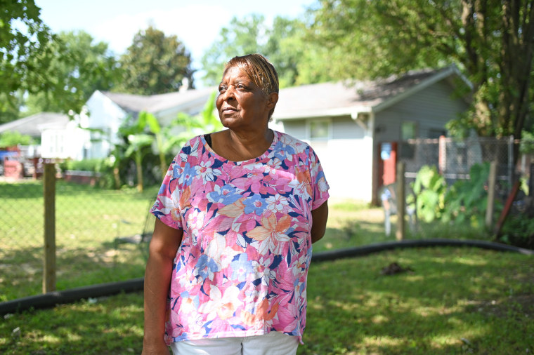 Sharon Smith at her home in Cahokia Heights, Ill.