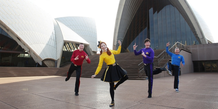 The Wiggles Photo Call