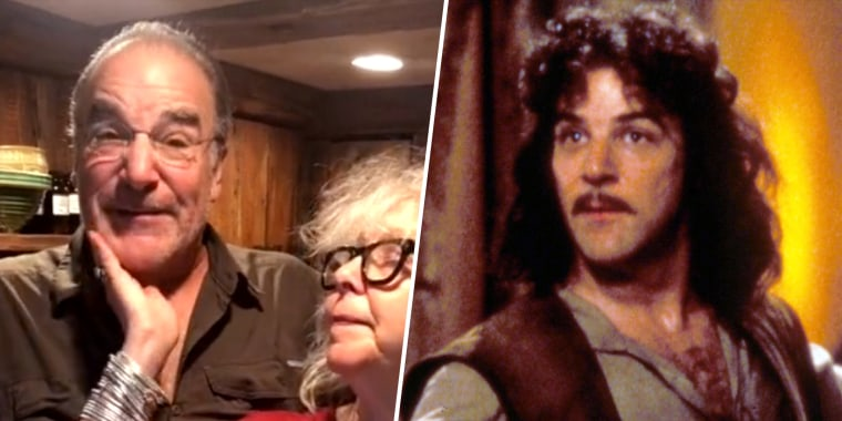 """Mandy Patinkin (left) played the fictional Inigo Montoya (right) in the 1987 film, """"The Princess Bride,"""" based off the book of the same name by William Goldman."""