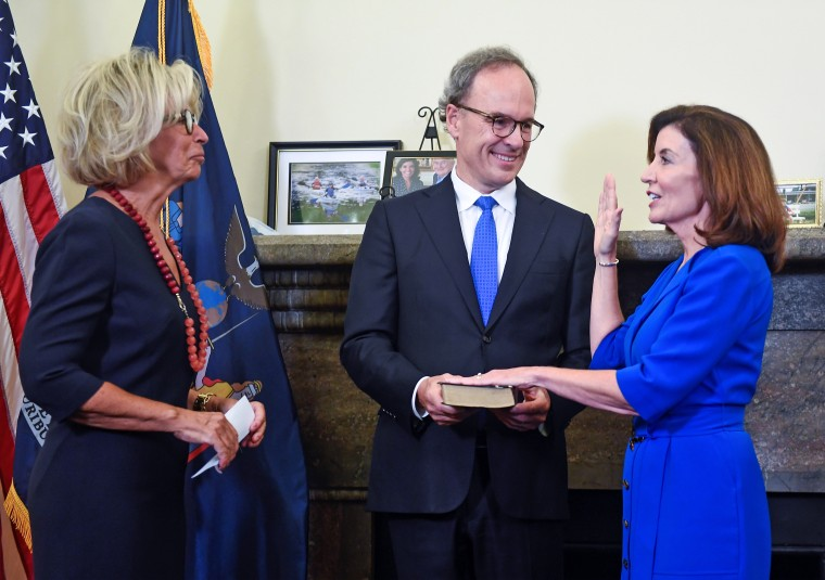 Image: Janet DiFiore, Chief Judge swears in Kathy Hochul