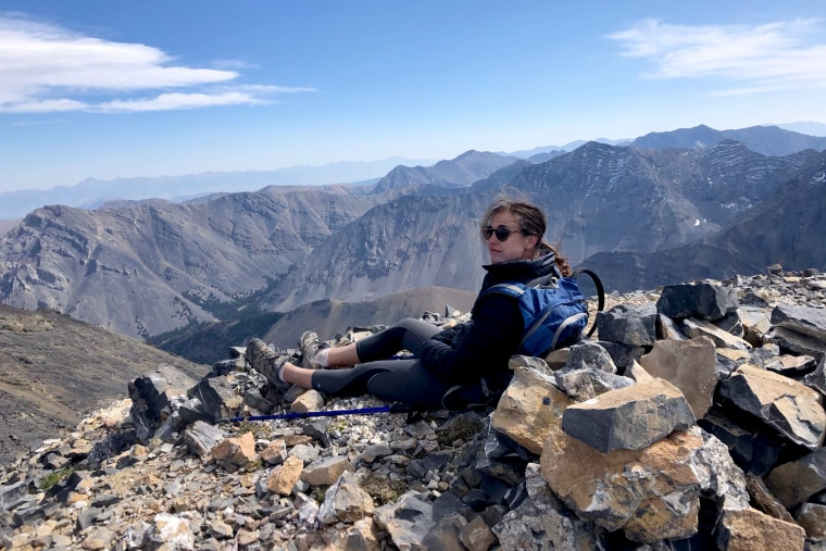 Rescuers recovered the body of missing hiker Tatum Morell from a remote region of Whitetail Peak, Mont., on Saturday.
