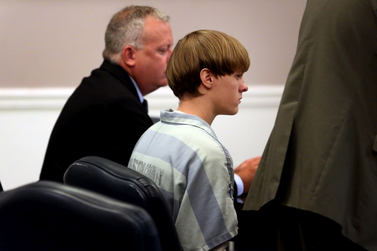 Image: Dylan Roof In Court Over Judge's Gag Order