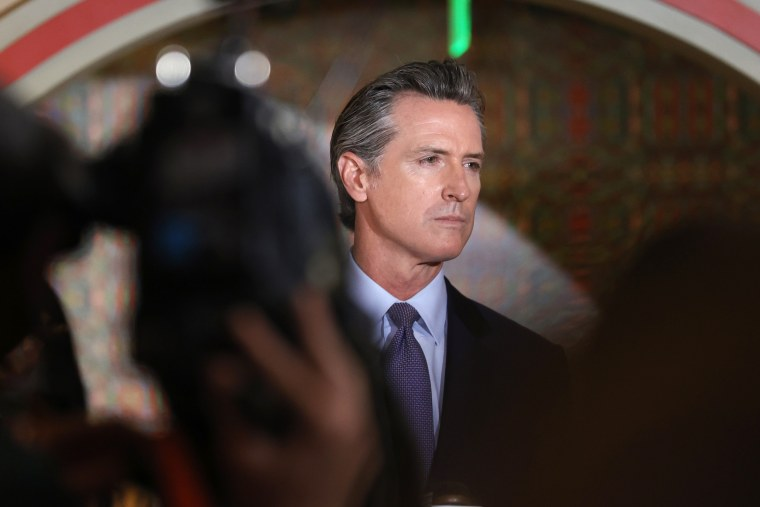 California Governor Newsom Meets With Bay Area AAPI Leaders