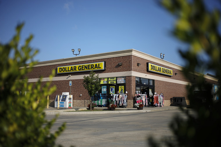 A Dollar General store in Crestwood, Ky., on Aug. 12, 2021.