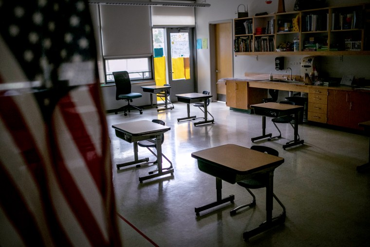 Some Schools Continue In-Class Learning As Others Shutter As COVID-19 Spikes Continue
