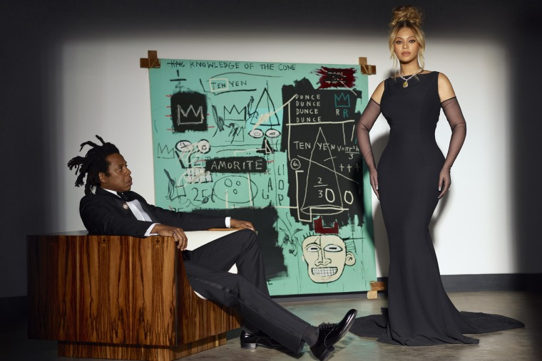Image: Jay-Z and Beyonce in a Tiffany & Co. ad campaign.