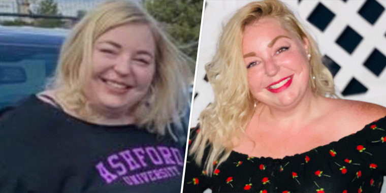 Castello started her weight-loss journey by drinking more water and following an intermittent fasting diet.