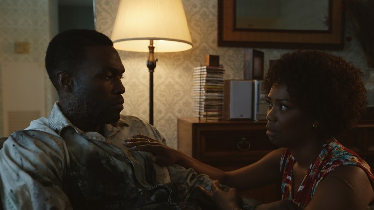 Image: Yahya Abdul-Mateen II and Vanessa Estelle Williams in a still from the movie, Candyman.