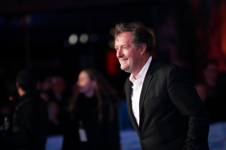 Piers Morgan arrives for the European premiere of 'Eddie The Eagle' in London on March 17, 2016.