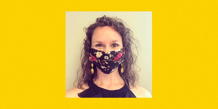 Dr. Emily Contois prepares to teach in-person for the first time in 18 months on a campus with no mask or vaccine mandates.