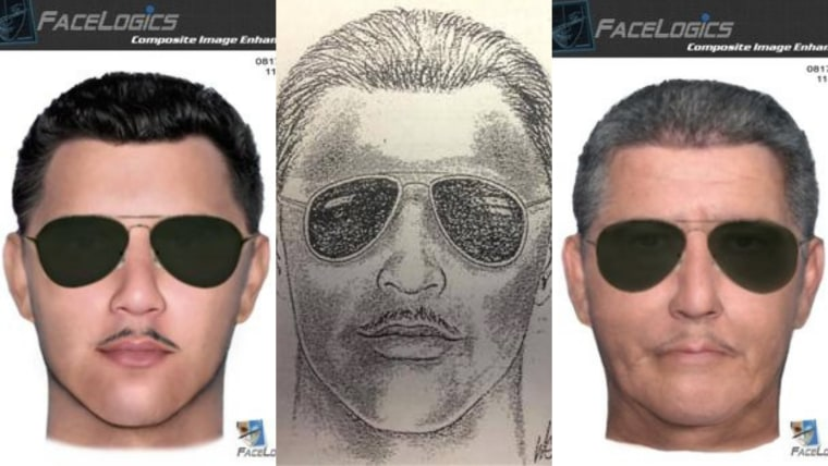 A composite sketch and an age-progression composite of what the suspect could look like today was released by deputies in the hope that someone will recognize him and come forward.