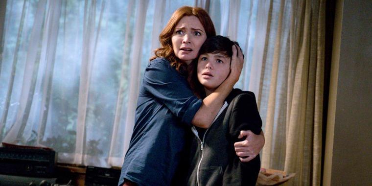 "Brigid Brannagh and Logan Williams on the CW series ""The Flash"""