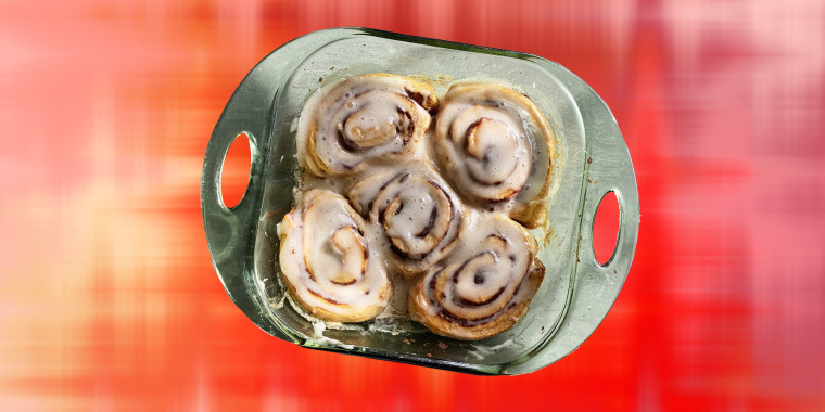 Take your cinnamon rolls to a whole other level with the addition of one simple ingredient.