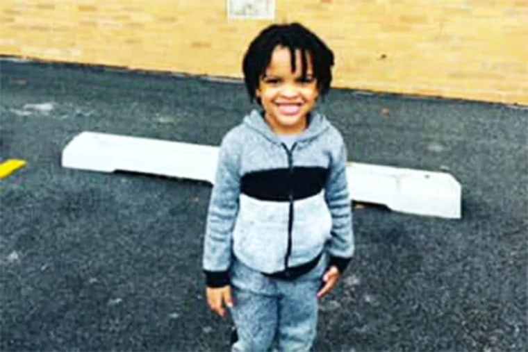 Mychal Moultry, Jr., 4, died in a shooting in Chicago on Sept. 3, 2021.