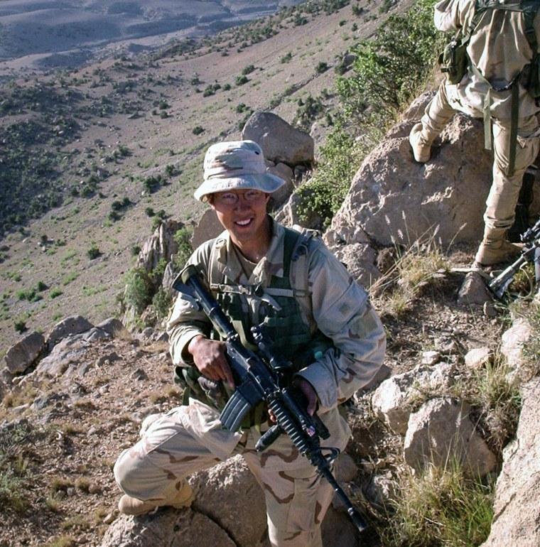 Army veteran Kiyoshi Mino.