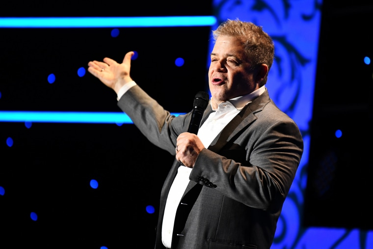 Patton Oswalt performs in Beverly Hills, Calif., on Oct. 17, 2019.