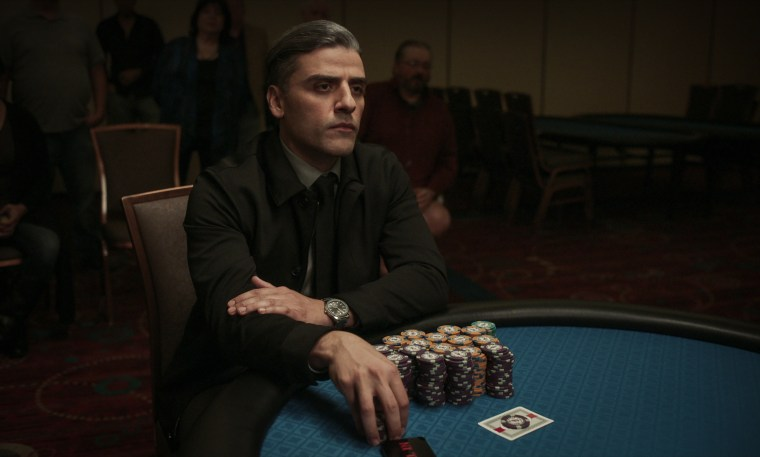"""Oscar Isaac stars as William Tell in \""""The Card Counter.\"""""""