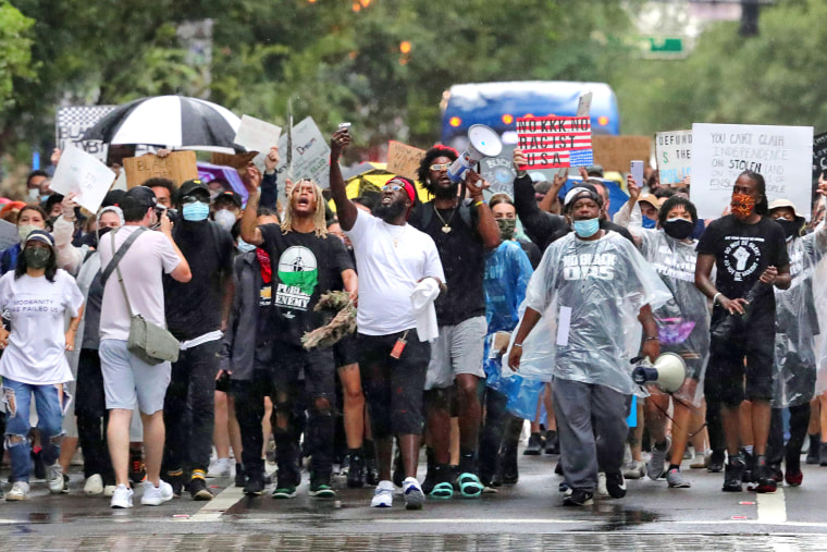 Image: BLM march