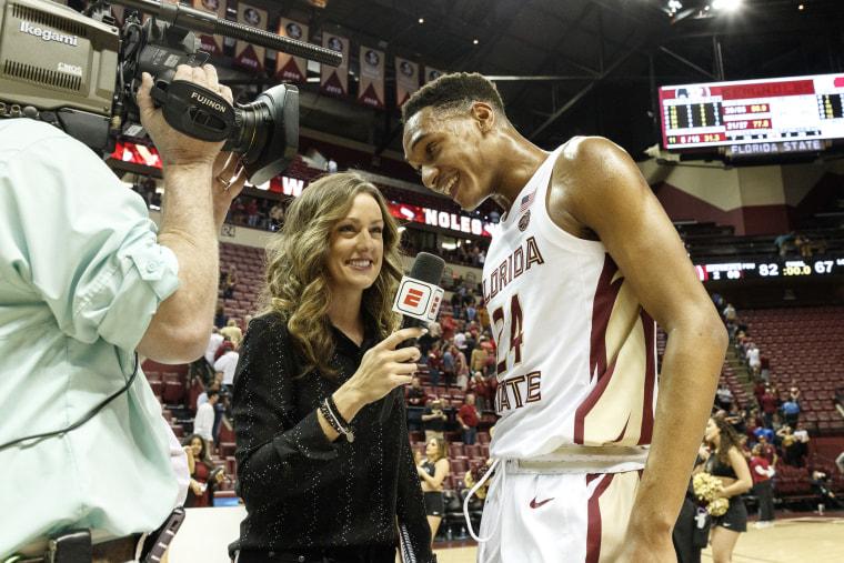 Image: ESPN Reporter Allison William
