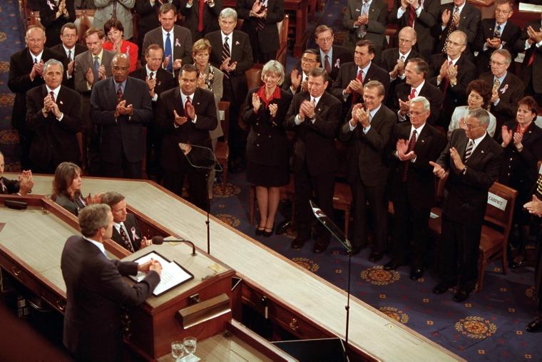 Image: George W Bush Addresses Congress