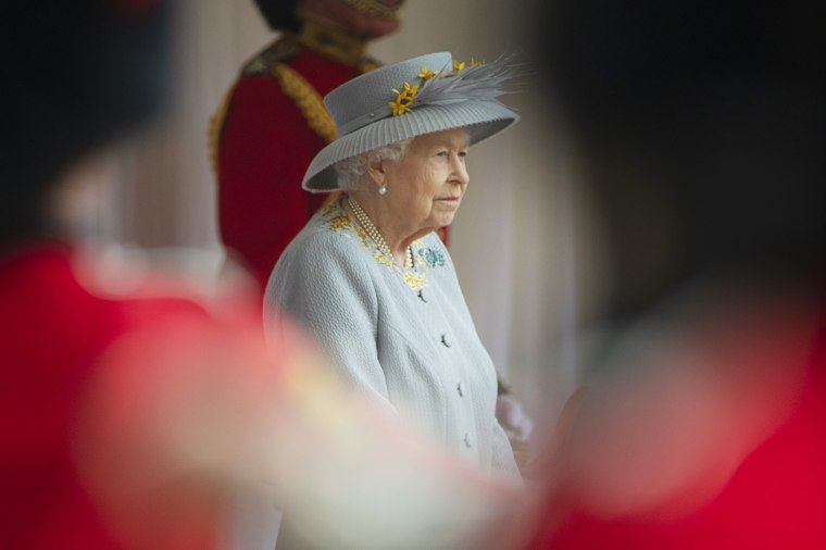 Trooping Of The Colour 2021