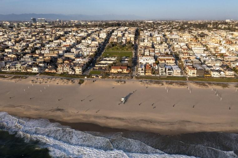 Image: Bruce's Beach in Manhattan Beach