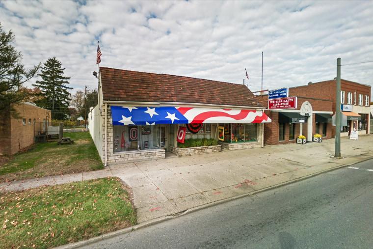 The Flag Lady store in Columbus, Ohio.