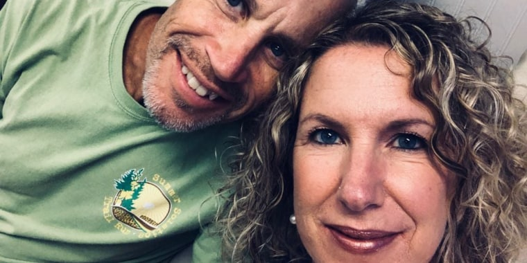 Lisa Marshall is the full-time caregiver for her husband, Peter, who is 56.