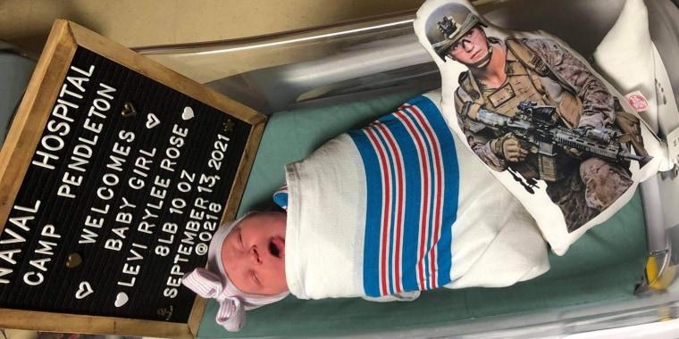 Levi Rylee Rose McCollum was born Sept. 13 in Oceanside, California.