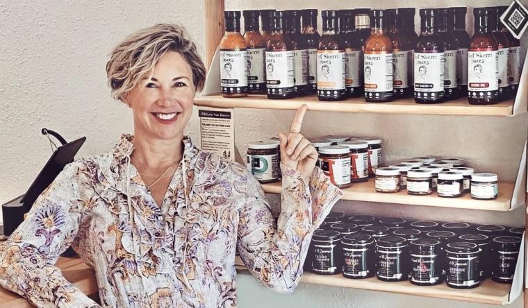 Image: Sherri Mitchell started Chef Sherri Sauces in June 2020