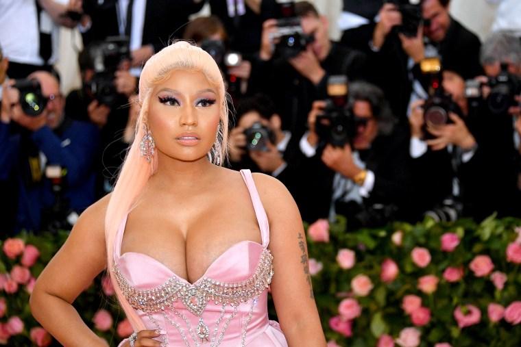 Image: Nicki Minaj, The 2019 Met Gala Celebrating Camp: Notes on Fashion - Arrivals