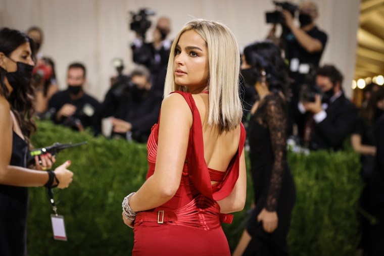 Image: The 2021 Met Gala Celebrating In America: A Lexicon Of Fashion - Arrivals