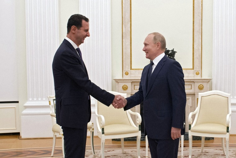 Image: RUSSIA-SYRIA-DIPLOMACY