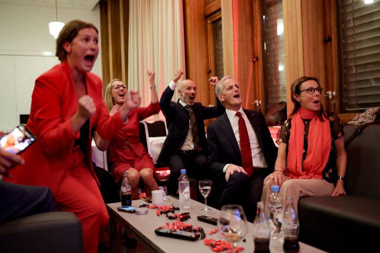 Image: TOPSHOT-NORWAY-POLITICS-VOTE
