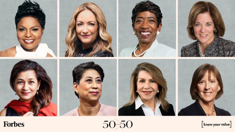 Forbes and Know Your Value unveils its 50 Over 50: Investment List.
