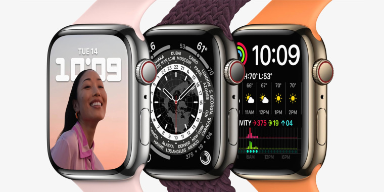 Image of two Apple Series 7 Watches