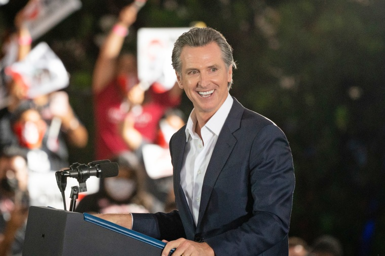 U.S. President Biden Campaigns With California Governor Newsom